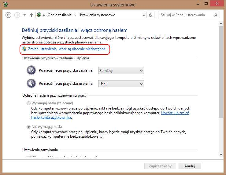 Fast Startup (Szybki Start) Windows 8/8 1/10 - Krzysztof Pilas
