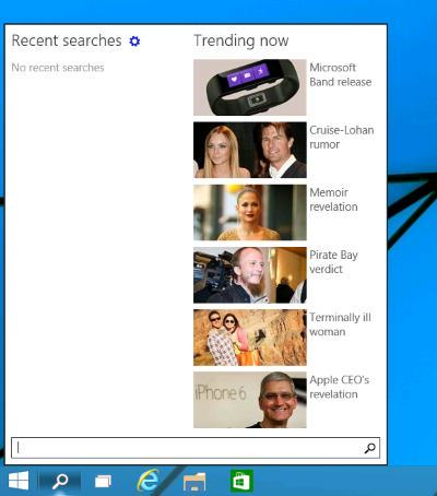 Windows10 Search